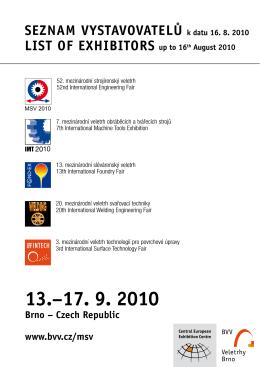 13.−17. 9. 2010 - PlasticPortal.eu
