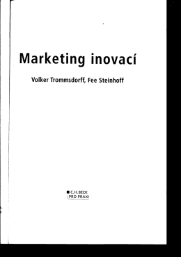 Marketing inovací
