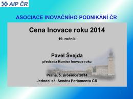 Cena Inovace roku 2014