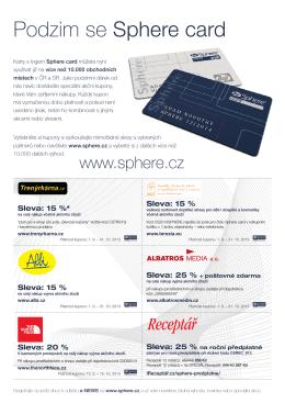 Podzim se Sphere card