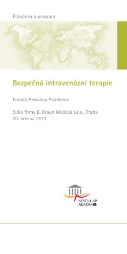 Bezpečná intravenózní terapie
