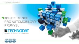 3DEXPERIENCE pro automobilový průmysl