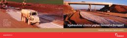 Hydraulická silniční pojiva Dorosol a Doroport
