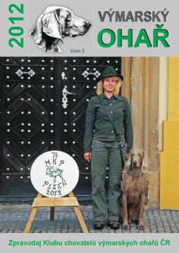 2/2012 - Klub chovatelů výmarských ohařů