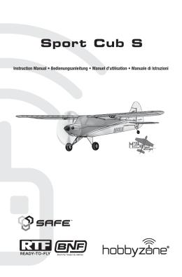 41924 HBZ UM Sport Cub SAFE RTF book .indb