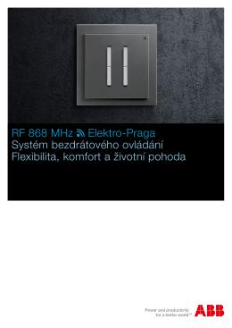 ABB | RF dálkové ovládaní - Elektroinstalace Revize Praha