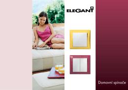 katalogu Elegant - OBZOR, výrobní družstvo Zlín