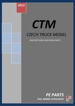 CZECH TRUCK MODEL PE PARTS