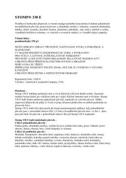 STOMP® 330 E - cibuloviny.sk