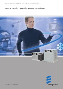 mobilní chladící a mrazící boxy firmy eberspÄcher