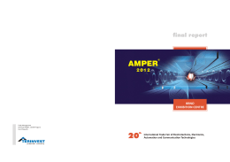 Final Report of AMPER 2012 here