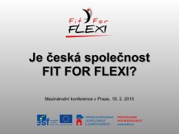 Je česká společnost FIT FOR FLEXI?