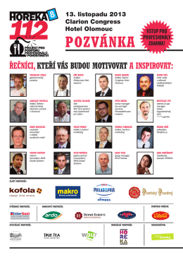 POZVÁNKA - horeka 112