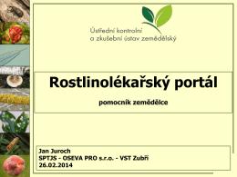 Rostlinolékařský portál ÚKZÚZ