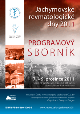 Programme book in pdf format. - congressprague