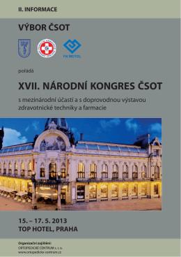 XVII. NÁRODNÍ KONGRES ČSOT