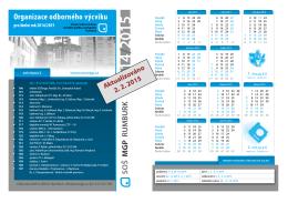 Rozvrh odborného výcviku - Střední odborná škola mediální grafiky