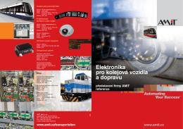 Elektronika pro kolejová vozidla a dopravu