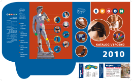 Katalog výroby Ergon 2010