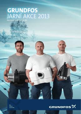 grundfos jarní akce 2013