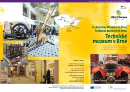 Technické muzeum v Brně - Top výletní cíle jižní Moravy