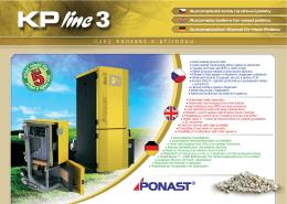 Prospekt KP line 3 - PONAST spol. s ro