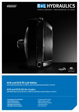 ACN und DCN Öl-Luft-Kühler ACN and DCN Oil-Air