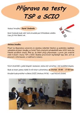 Příprava na testy TSP a SCIO