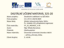 Prezentace aplikace PowerPoint - Střední zdravotnická škola Děčín