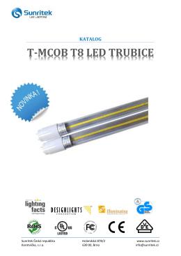 T-MCOB T8 LED TRUBICE