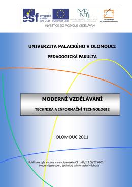 Moderní vzdělávání: Technika a Informační technologie