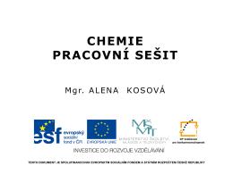 078_Pracovni sesit Chemie - Kosova