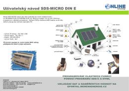 SDS_MICRO_DIN_E uziv_2012CZ.cdr - Měření Energie