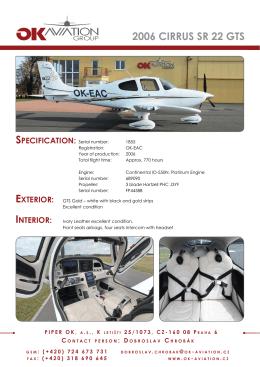 SPEC OK-EAC CIRRUS SR22.indd