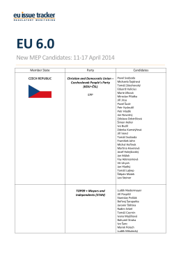 EU 6.0 - by EU Issue Tracker