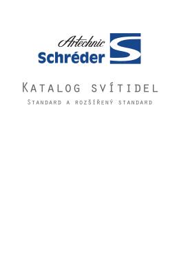 Katalog svítidel - Artechnic