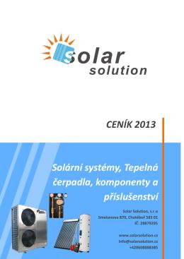 Ceník 2013 - Solar Solution sro