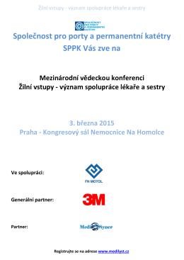 Společnost pro porty a permanentní katétry SPPK Vás