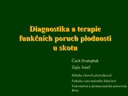 Přednáška-Funkční poruchy plodnosti (PDF)