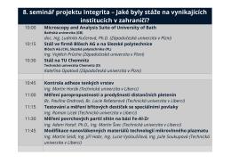 Ke stažení jako PDF - Integrita - Západočeská univerzita v Plzni