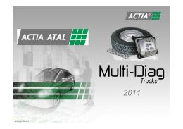 Prezentace Multi-Diag Truck