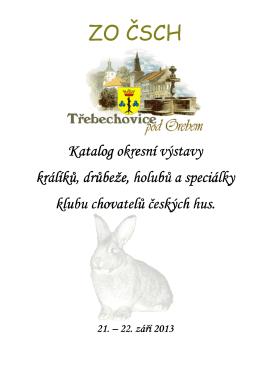 katalog Třebechovice 2013