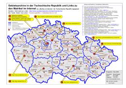 Gebietsarchive in CZ