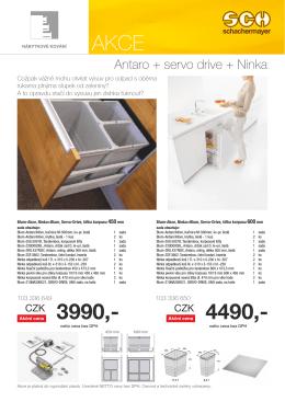 Antaro + servo drive + Ninka