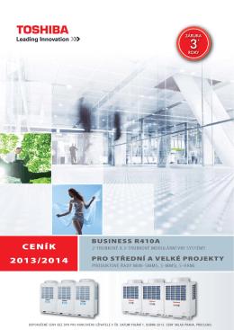 Ceník VRF systémy (Commercial & Business)
