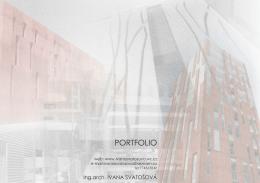 PORTFOLIO - Ivana Svatošová