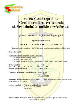 Policie České republiky Národní protidrogová centrála služby
