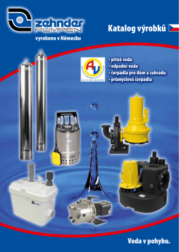 Produktový katalog Zehnder Pumpen GmbH - dn