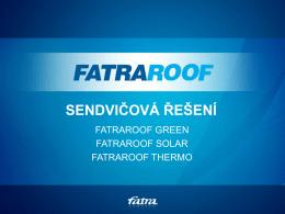 Schéma FATRAROOF GREEN