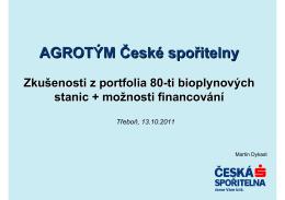 AGROTÝM České spořitelny